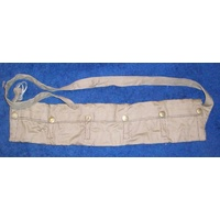 SMLE COTTON BANDOLEER 5 POCKET WITH PRESS STUDS