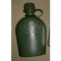 REPRODUCTION AUST CANTEEN GREEN PLASTIC