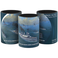 DRINK HOLDER / COOLER - MILITARY CONFLICTS INTERNATIONAL FLEET REVIEW