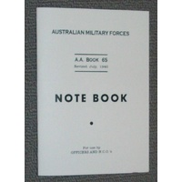 NOTEBOOKS & ACCESSORIES - NOTE BOOK AA65 1940 - 20 ruled pages