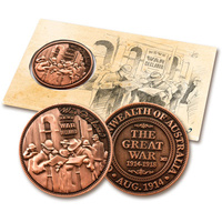 COLLECTIBLE PENNIES - WAR DECLARED