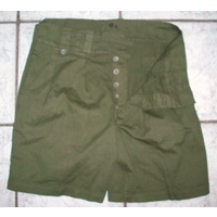 WW2 AUSTRALIAN ARMY ISSUE GREEN SHORTS