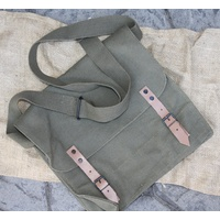 CANVAS HAVERSACK - REPRODUCTION OLIVE GREEN