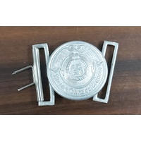 WW2 GERMAN OFFICER DRESS BELT BUCKLES