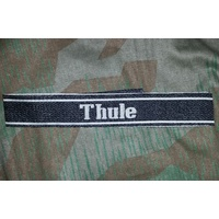 WW2 GERMAN SS CUFF TITLE - THULE
