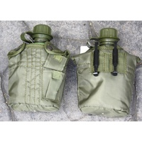 PLASTIC G.I. CANTEENS WITH NYLON CARRIER