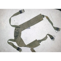 U.S. M1956 SUSPENDERS USED CONDITION