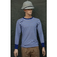 CHINESE NAVY PLA STRIPED SHIRT