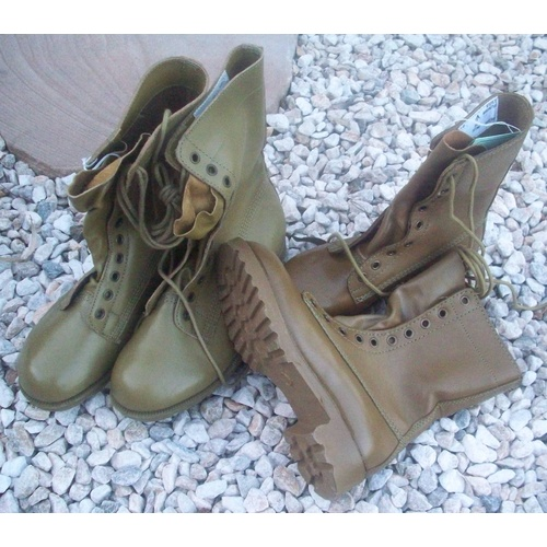 G.P. BOOTS  KHAKI TAN ADF ISSUE NEW