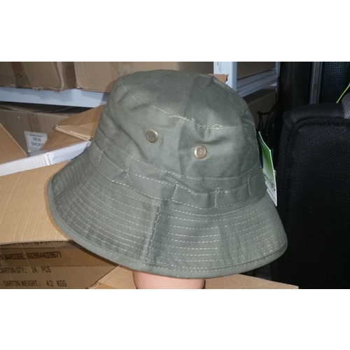 GIGGLE / BUCKET HAT OLIVE GREEN